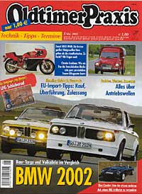Courier of Robb Horton featured in German Classic Magazine